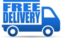 自由送货卡车例证 向量例证