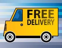 自由送货卡车 皇族释放例证