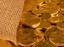 自由金老鹰一盎司硬币 免版税库存照片
