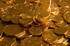 自由金老鹰一盎司硬币 免版税图库摄影