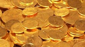 自由金老鹰一盎司硬币 库存照片