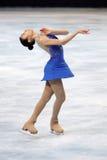 自由金kor na滑冰的yu 库存照片