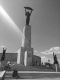 自由雕象,布达佩斯,匈牙利 图库摄影