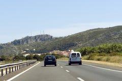 自由高速公路 免版税库存图片