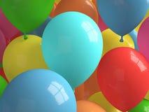 自由Baloons 库存图片