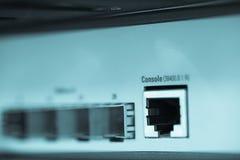 自由Channrl插孔服务器互联网 免版税库存图片
