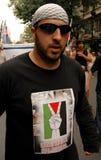 自由palestina 免版税库存照片