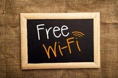 自由WiFi 免版税库存图片