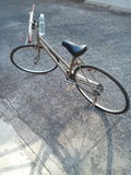 自行车为生活 免版税库存图片