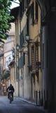 自行车乘驾在Florens 库存图片