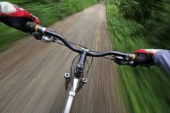 自行车乘驾 免版税库存图片