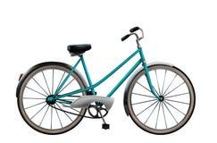 自行车例证葡萄酒 免版税库存图片