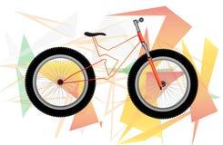 自行车例证 图库摄影