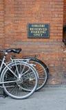 自行车停车 免版税库存照片