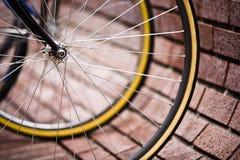 自行车停车 免版税库存图片
