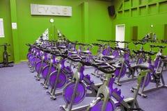 自行车健身空转 图库摄影