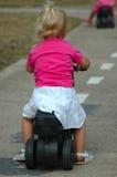 自行车儿童骑马 免版税库存图片