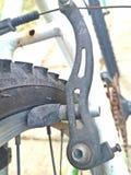 自行车制动块 库存图片
