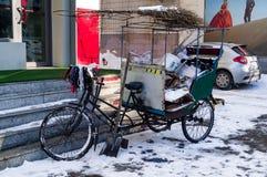 自行车卡车台车 免版税库存照片