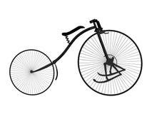 自行车右侧 免版税库存照片