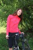 自行车周末 库存照片