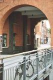 自行车和城市生活 库存照片
