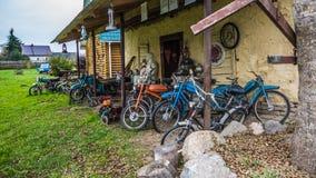 自行车和脚踏车 库存照片
