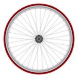 自行车唯一速度轮子 免版税库存照片