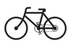 自行车图标 免版税库存照片