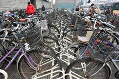 自行车在中国 免版税库存照片