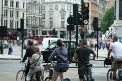 自行车在伦敦 免版税图库摄影