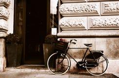 自行车在布达佩斯 图库摄影