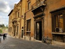 自行车在意大利 免版税图库摄影