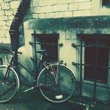 自行车在英国 免版税库存照片