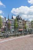 自行车在阿姆斯特丹,荷兰 库存图片