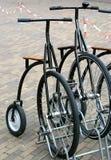 自行车塑造了老 库存照片