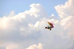 自行车天空 库存图片