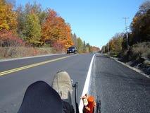自行车安大略靠着乘驾 免版税库存照片