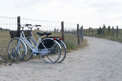 自行车对 免版税库存照片