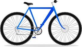 自行车山 免版税库存图片