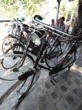 自行车市场 库存照片