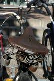自行车座位 库存图片