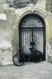 自行车意大利西西里岛葡萄酒 库存照片