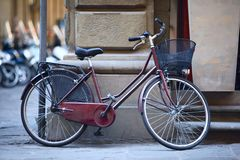 自行车意大利语 免版税图库摄影