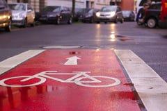 自行车我爱我 库存图片