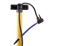 自行车手泵 免版税库存图片
