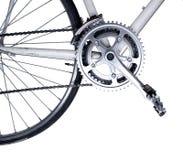 自行车接近  免版税图库摄影