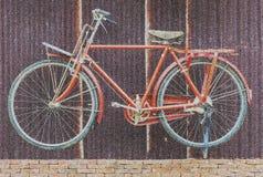 自行车摘要背景的图象 免版税图库摄影