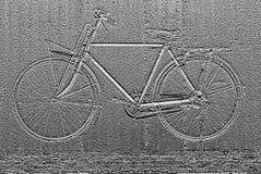 自行车摘要背景的图象 库存照片