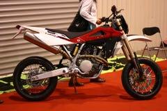 自行车摩托车越野赛 免版税库存图片